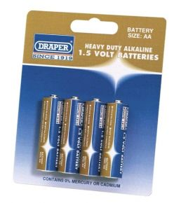 Batteries 64248 - 4 x AA type 1.5v