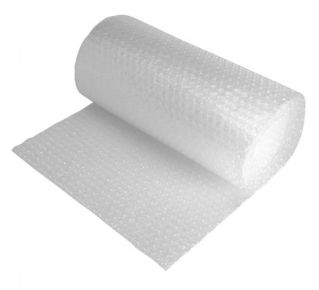 Bubble Wrap Clear Small Bulbbles (750mm x 200m) 2 Pack