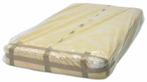 "Covers Mattress 3'6""ft 150g poly 43"" x 86"""