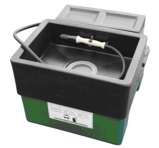 Bench top parts washer
