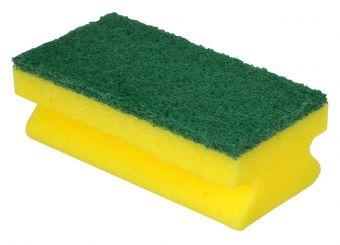 Scourer - Green Sponge Back (Pack 60)