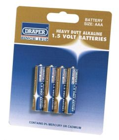 Batteries 64247 - 4 x AAA type 1.5v